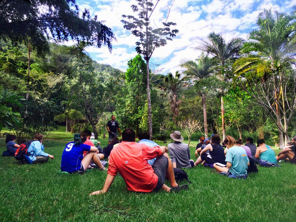 BBG class on Ethnobotany