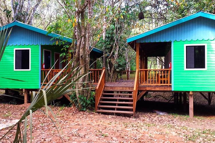 Guest House view of Veranda & Deck